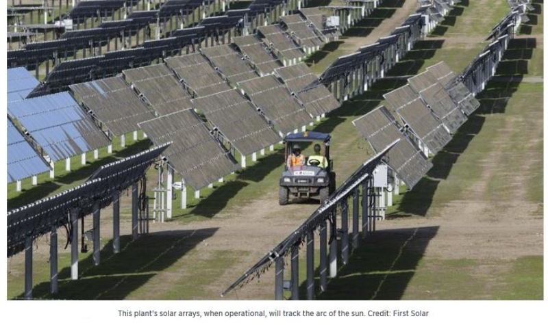 3 solar arrays  hearst ranch