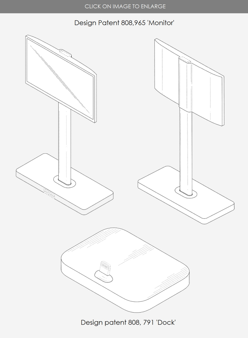 3 design patents