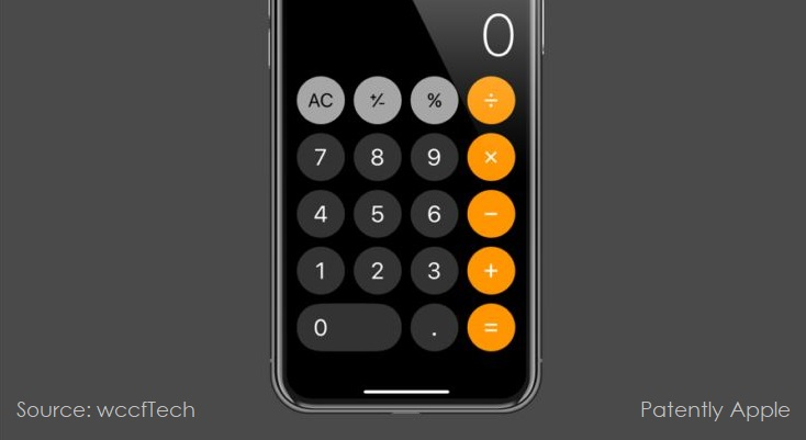 1 X cover ios calculator
