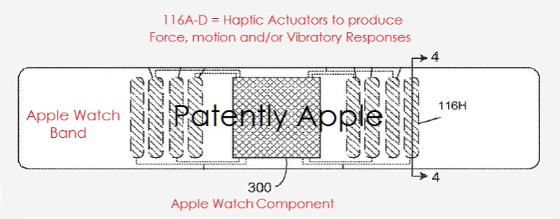 3 apple watch band with haptics