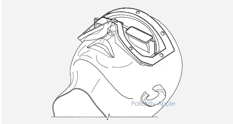 photo image Apple Invents an Optical System for a Future VR and AR Headset