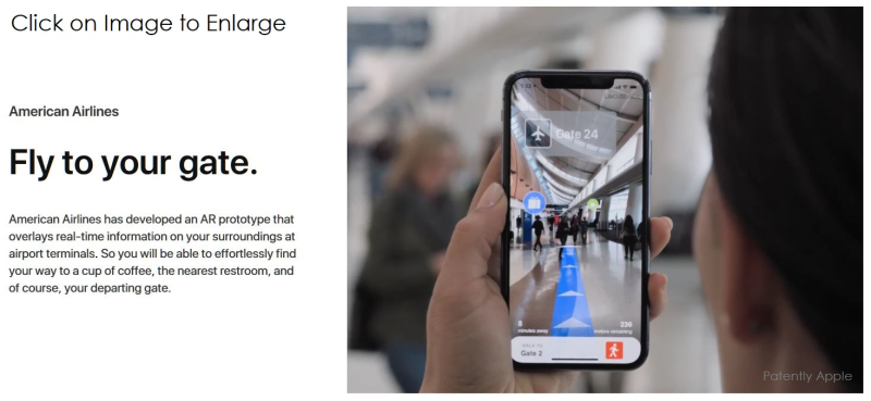 5 American Airlines using AR