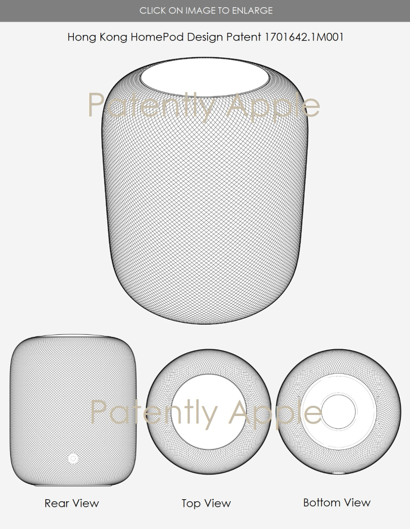 2 - 7 GRANTED DESIGN PATENTS FOR HOMEPOD