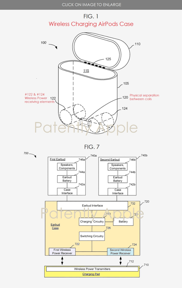 Apple U0026 39 S Patent Covering Their Wireless Charging Airpods