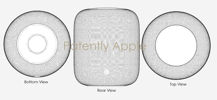 1 Cover Apple design patent for homepod