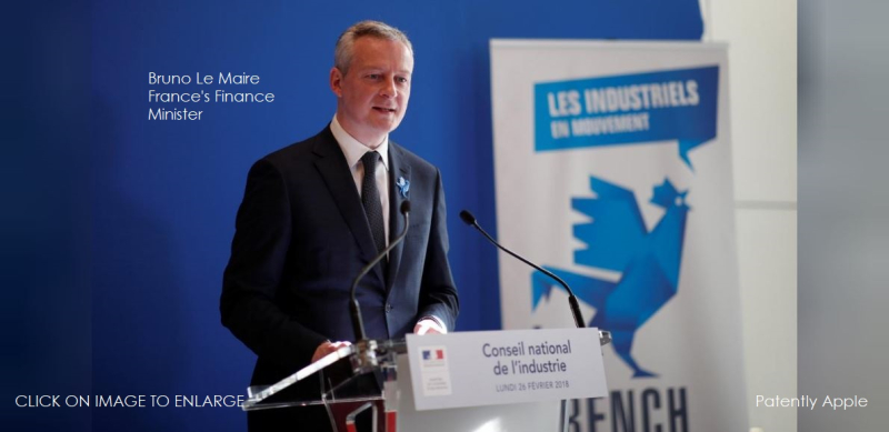 1 cover Finance minister Le Marie