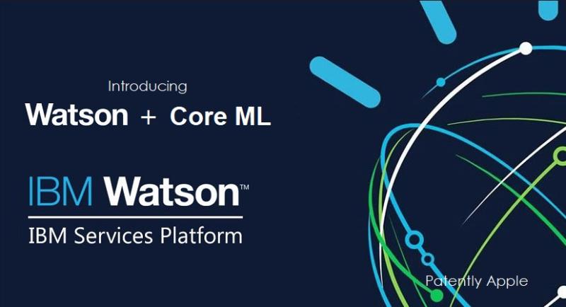 1 X watson + Core ML