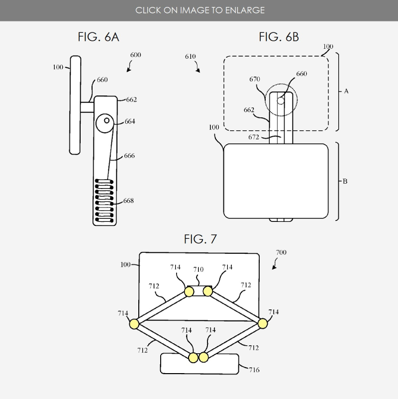 5. IPAD STAND PATENT FIGS. 6A B  FIG. 7