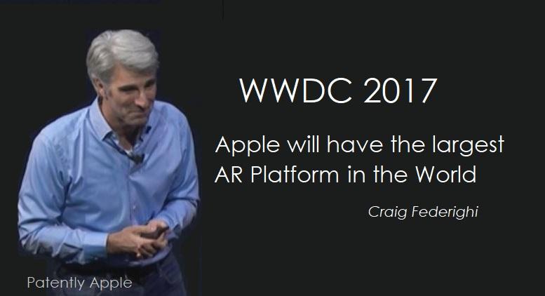 1 X Apple largest AR Platform in the world