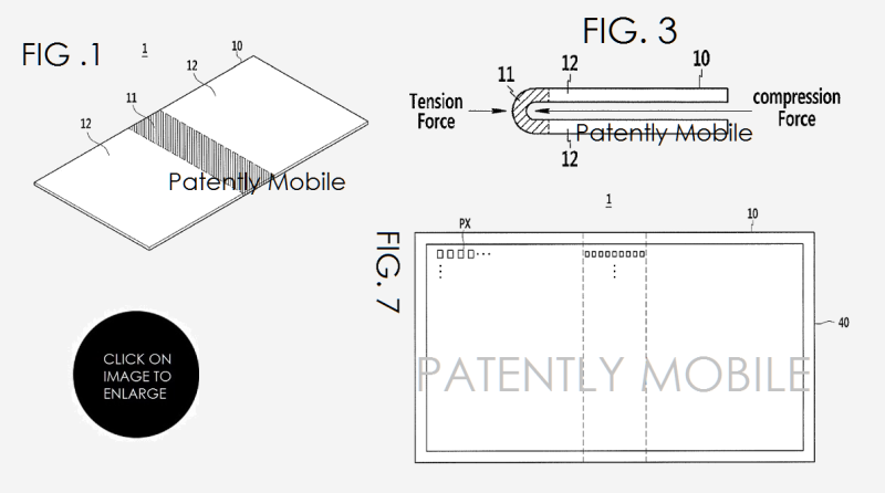 4 samung granted patent for foldable smartphone