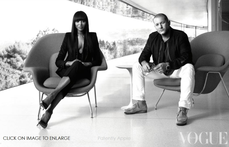 1 X cover Naomi Campbell interviews Jonathan Ives