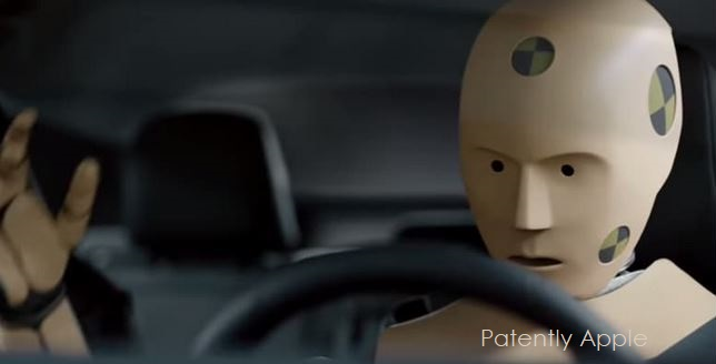 1 X cover apple car safety patent