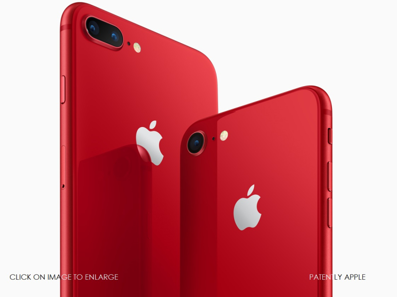 1 X cover iPhone8 iPhone8PLUS PRODUCT RED