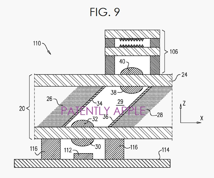 2  X dot projector patent apple apr 10  2018 granted
