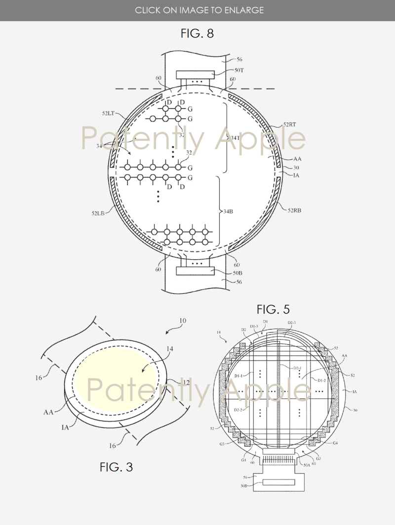 3 Apple Watch with rounded interface