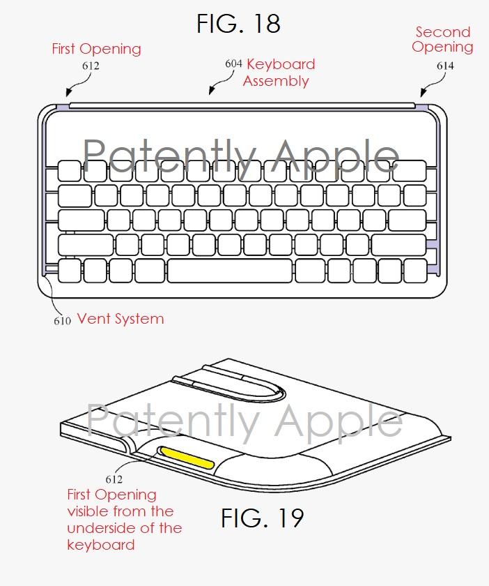 4 Smart Keyboard  possible future keyboard vent system