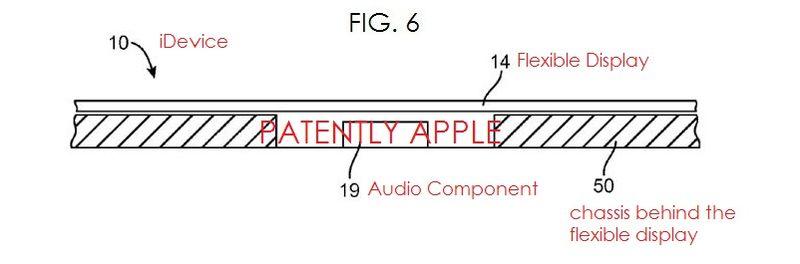 2af audio under flex display