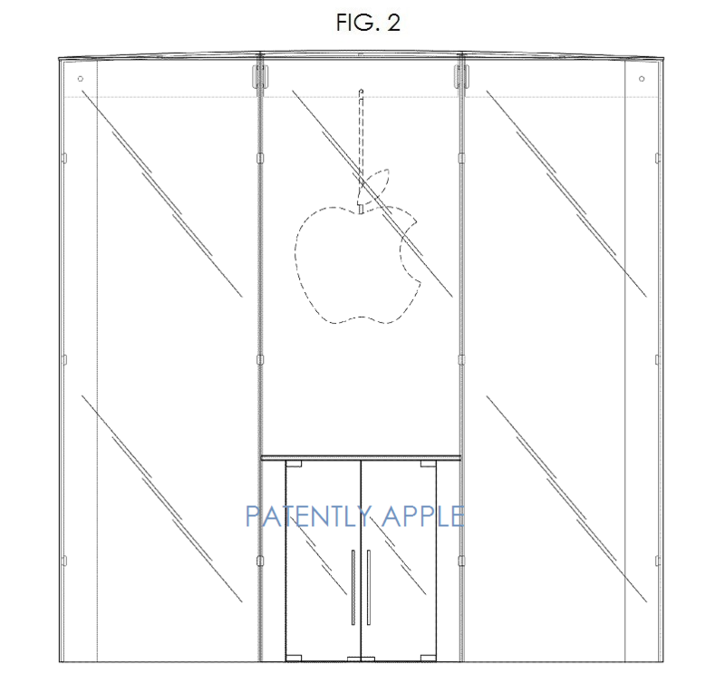 3AF - APPLE GLASS STORE DESIGN FIG. 2