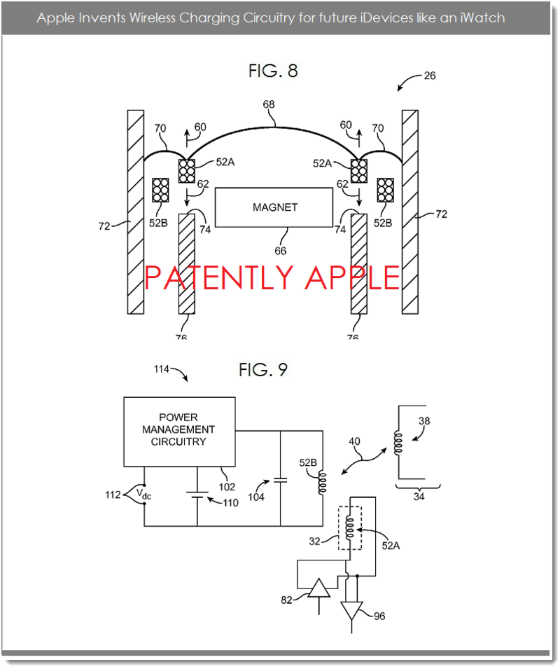 3AF - APPLE IWATCH WITH WIRELESS CIRCUITRY FIGS. 8 & 9