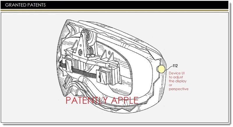 1AF - APPLE GRANTED PATENT COVER GRAPHIC FOR PERSONAL DISPLAY HMD SYSTEM