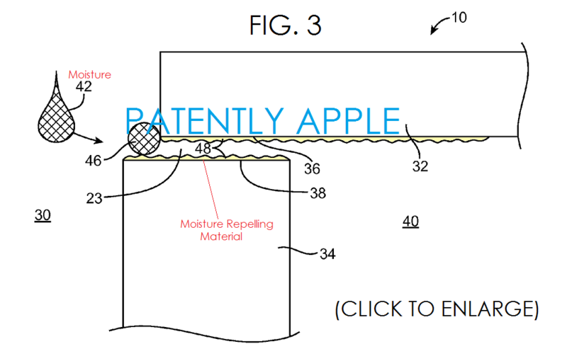 2AF - APPLE WATER PROOFING PATENT FIG. 3