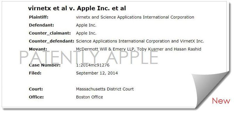 2AF2A2 - Virtex back in court against Apple