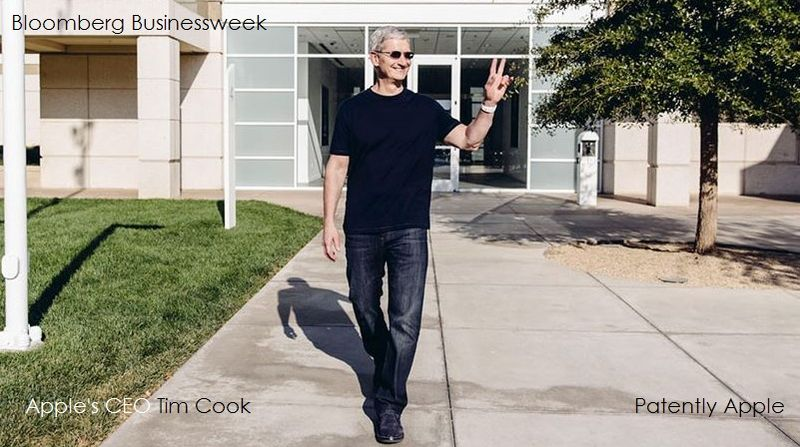 1 cover Apple's CEO Tim Cook