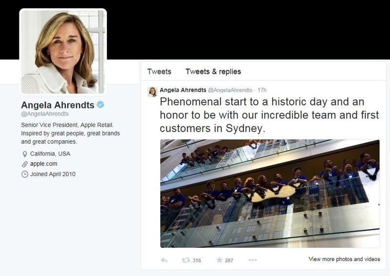 2AF Angela Ahrendts