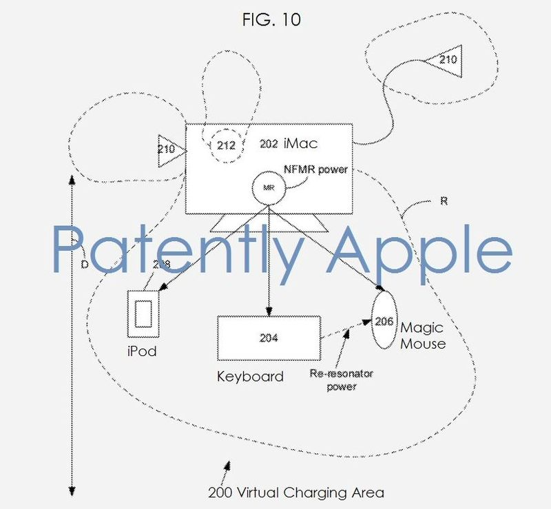 2AF - VIRTUAL CHARGING AREA APPLE PATENT