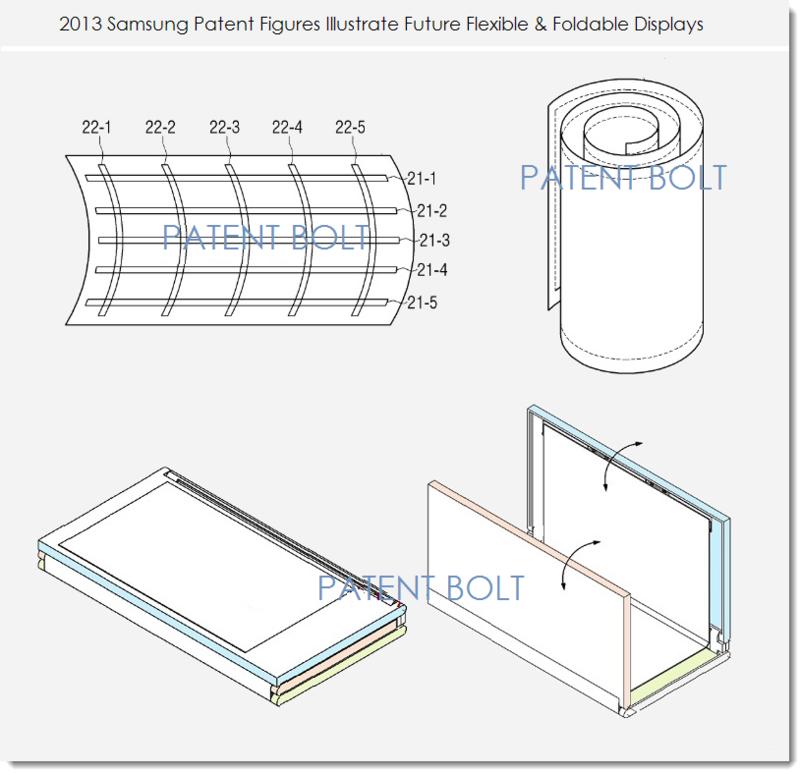 2af samsung bendable display patents