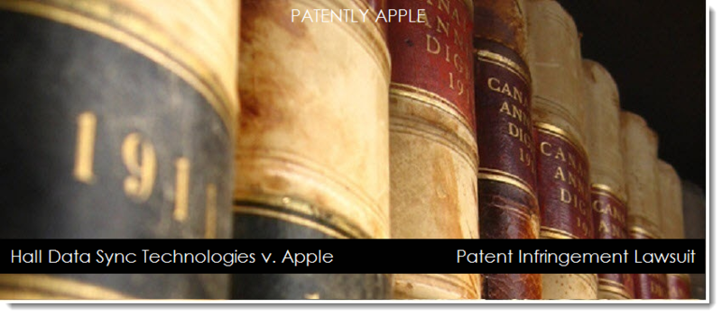 1 - cover - HDST V. APPLE FOR INFRINGEMENT