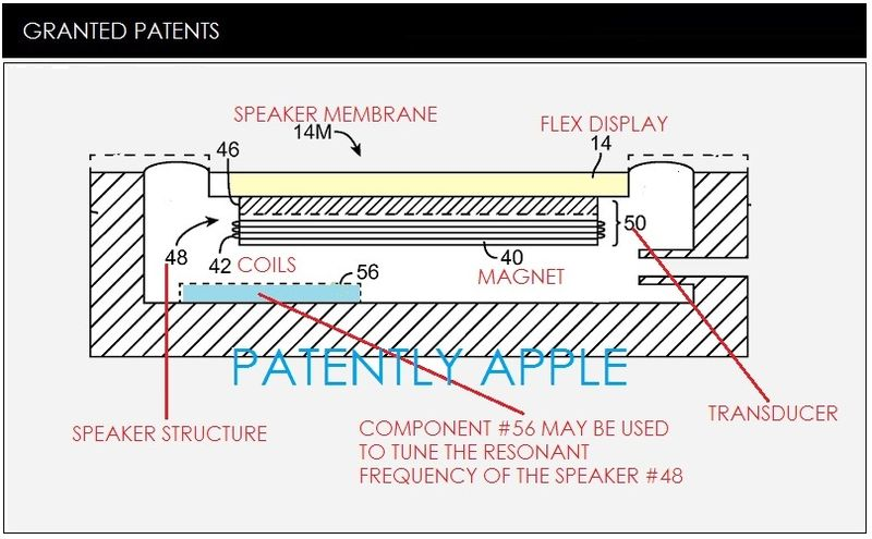 1 COVER - SPEAKER DISPLAY GRANTED PATENT