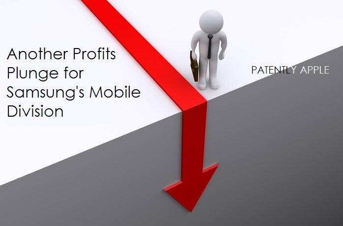 1 cover samsung profits plunge, mobile divison