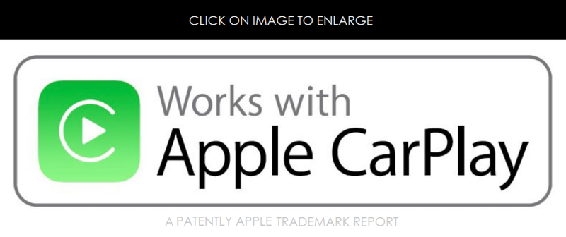 3AFF - WORKS WITH CARPLAY - FIGURATIVE TM - PATENTLY APPLE REPORT JAN 2015