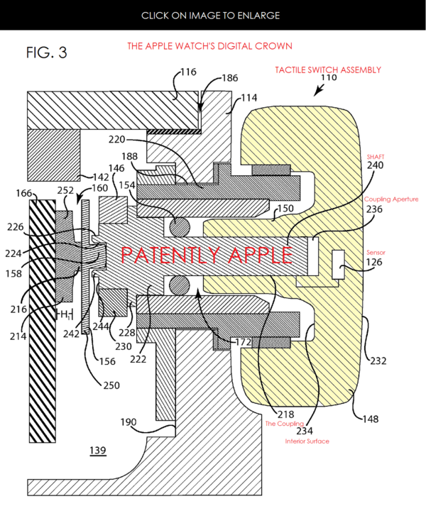 Apple Reveals the Technology behind Apple Watch's Digital Crown