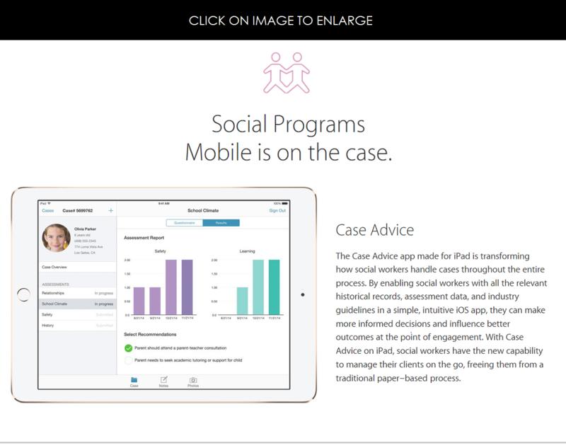 5af social programs - mobilefirst app