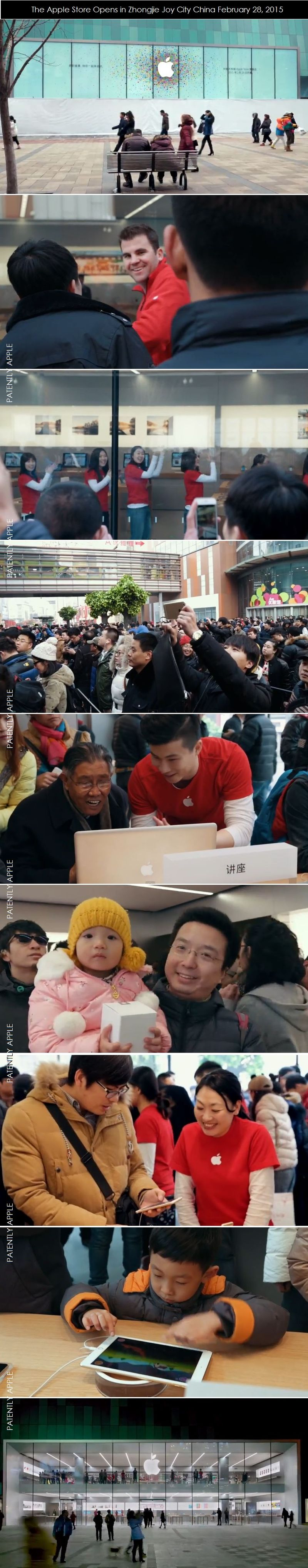 2AAAA - COVER - APPLE STORE IN JOY CITY CHINA FEB 28, 2015