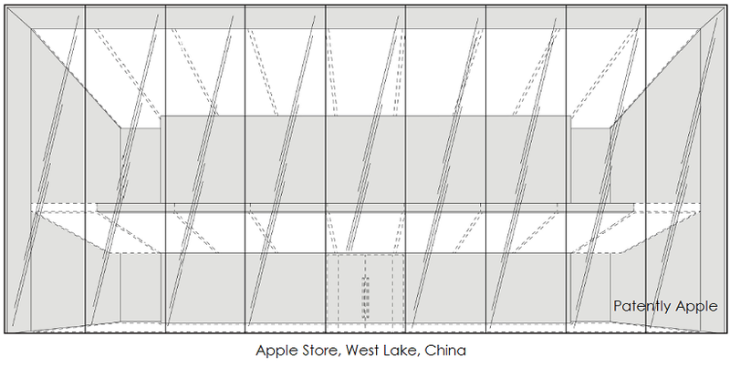 Hong Kong Patent Office Grants Apple 8 Design Patents for their Flagship Store in West Lake, China