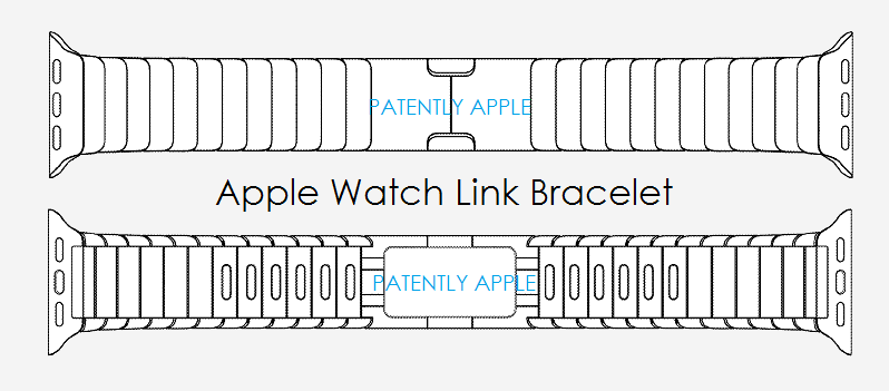 1AF COVER APPLE WATCH LINK BRACELET