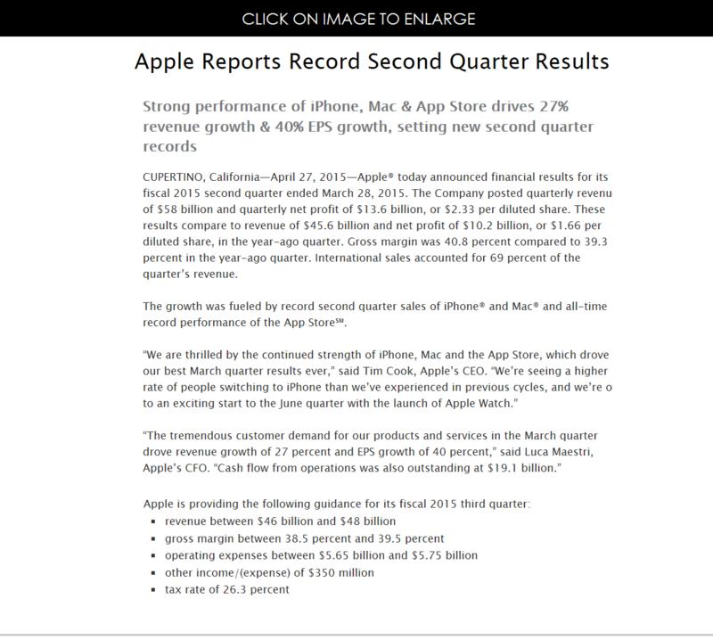 2af press release apple financials q1 2015