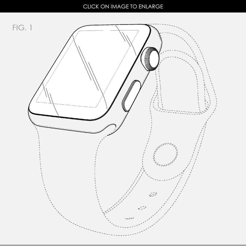 4AF APPLE WATCH DESIGN PATENT FIG. 1