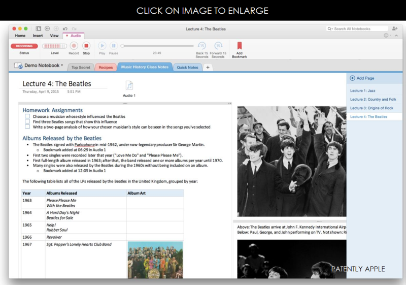 2af OneNote for the Mac