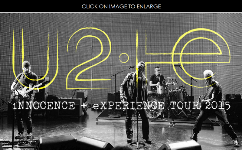 1 cover U2 innocent experience tour