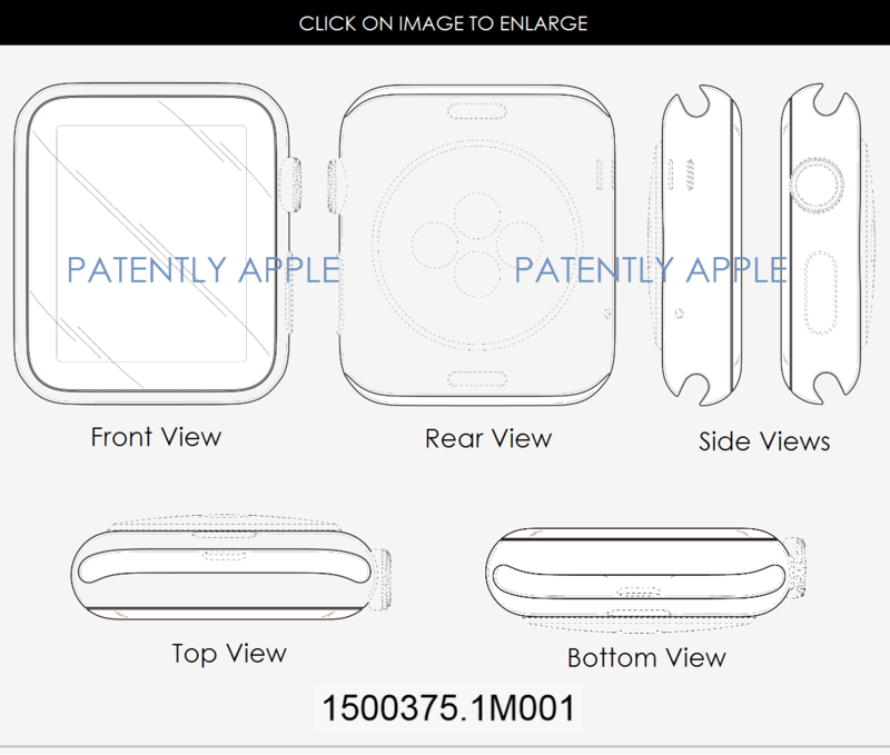 4AF APPLE WATCH DESIGN PATENT