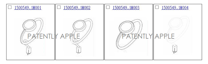 3AF 55 - FOUR APPLE WATCH CHARGER DESIGN PATENTS HONG KONG
