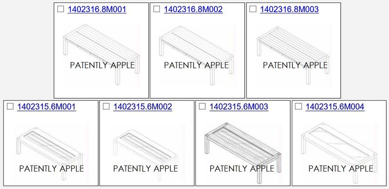 2AF 55 OVERVIEW OF Apple Watch Table design patents china