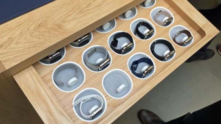 7 apple watch table for fittings