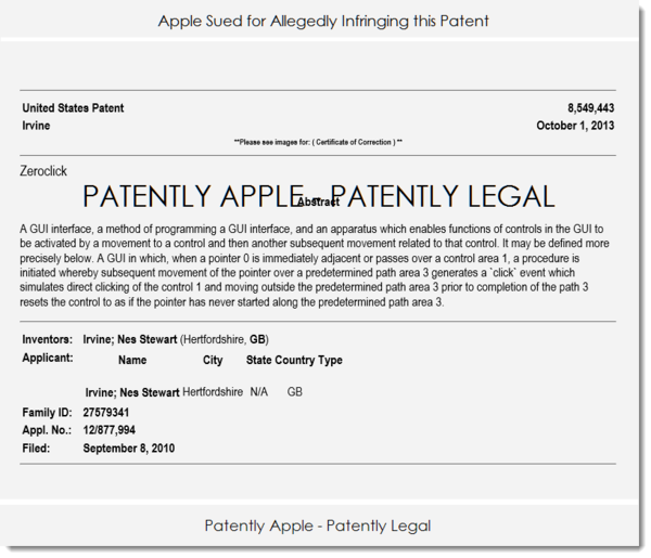 One of the Most Compelling Legal Cases Filed against Apple in Years was filed in California Yesterday