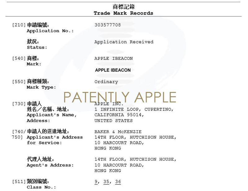 4 apple ibeacon