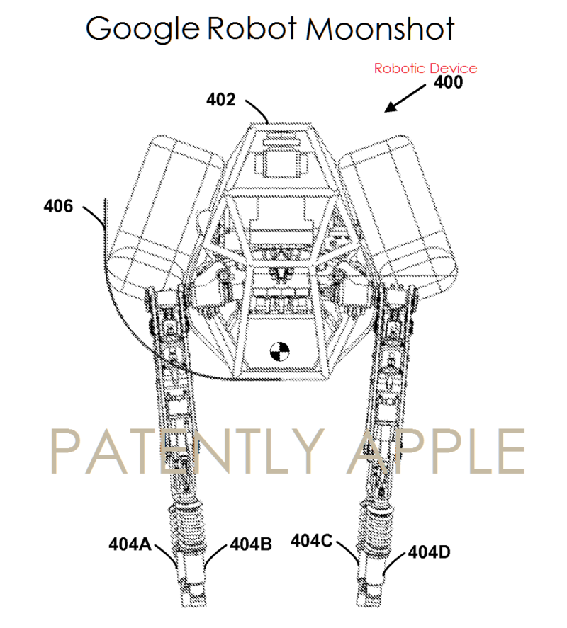 2AF 66 GOOGLE ROBOT PATENT APPLICATION